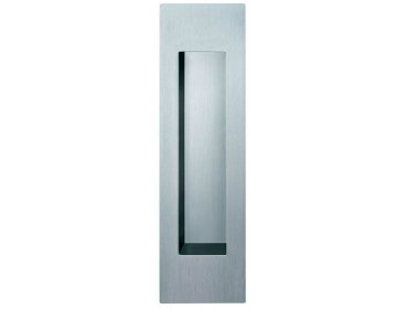 Poignée cuvette inox Touch in ouverte 45 x 155
