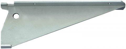 Console cr maill re alu anodis argent en 150 mm d jeuner au jardin - Console pour cremaillere ...
