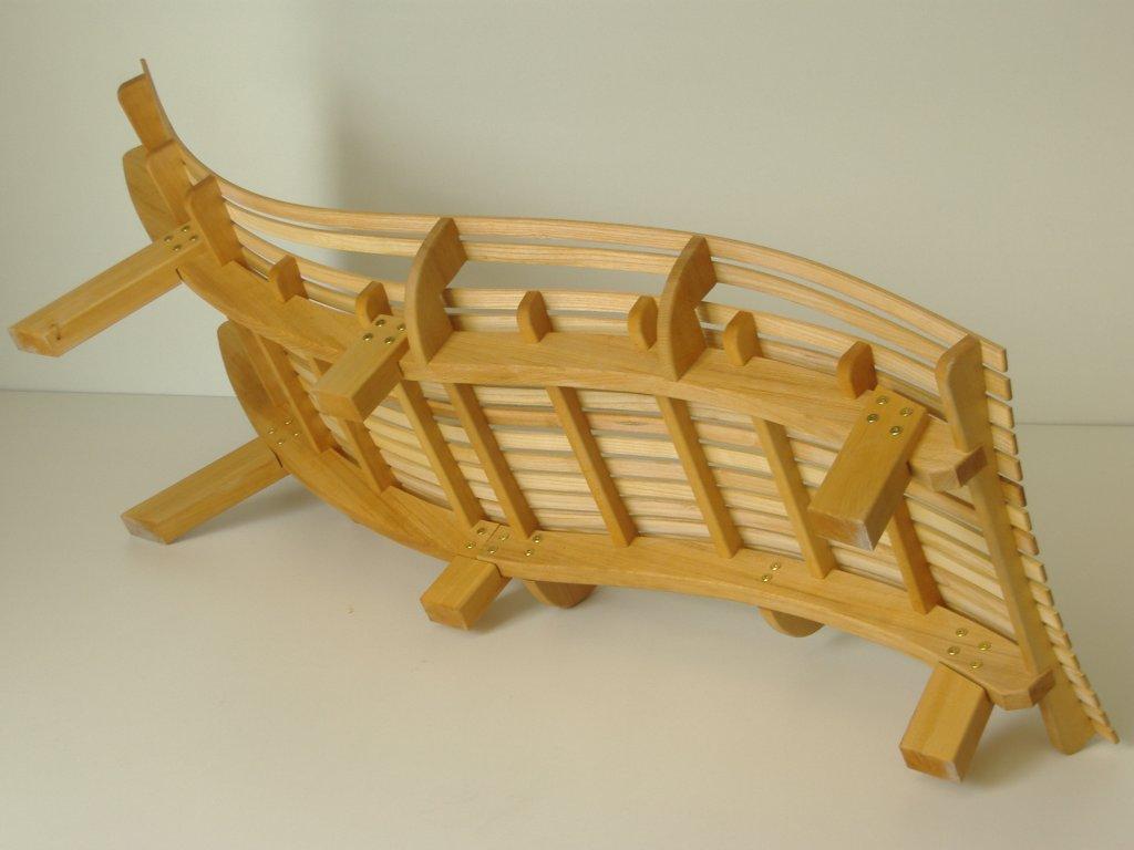 chaise bain de soleil en h tre et fr ne non trait e. Black Bedroom Furniture Sets. Home Design Ideas
