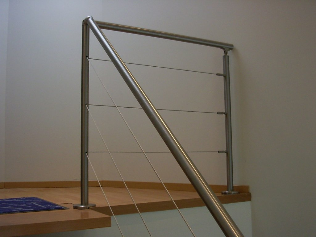 kit tendeur pour cable de main courante inox d jeuner au. Black Bedroom Furniture Sets. Home Design Ideas