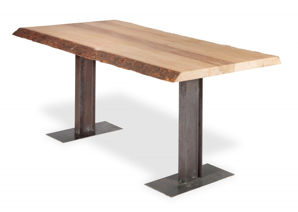 Table troncs plateau arbre planche tronc for Table plateau tronc d arbre