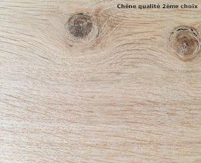 Panneaux plateaux bois de ch ne massif origine france pour menuiserie - Plateau en chene massif ...